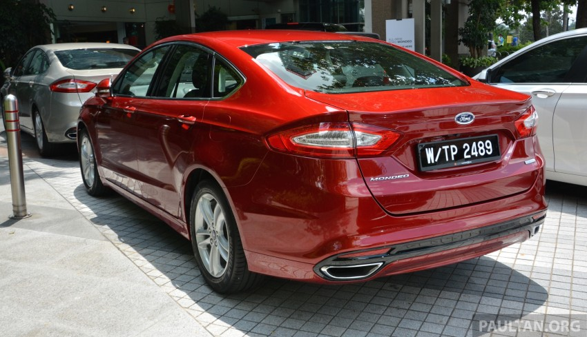GALLERY: 2015 Ford Mondeo – first drive impressions Image #323500