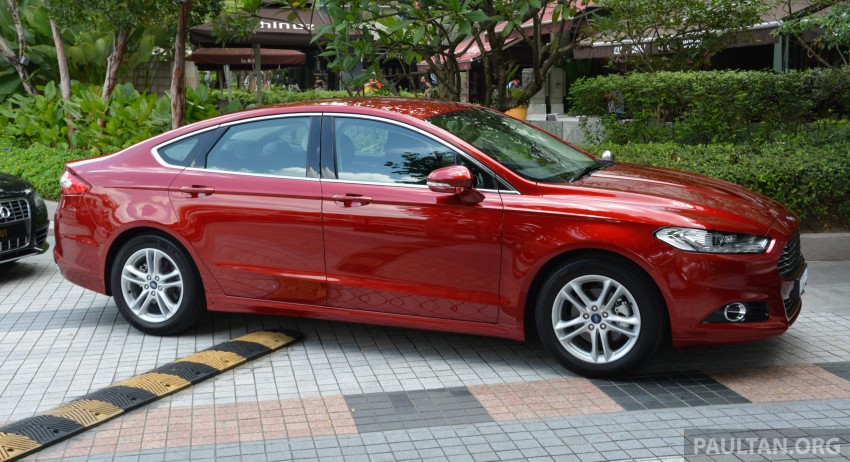 GALLERY: 2015 Ford Mondeo – first drive impressions Image #323501