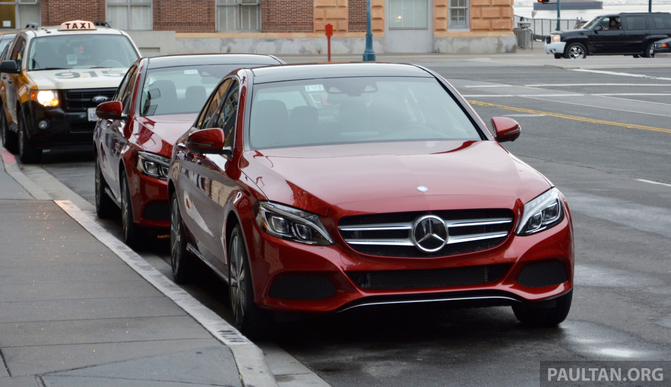 DRIVEN: Mercedes-Benz C350e plug-in hybrid in SF Image 327249