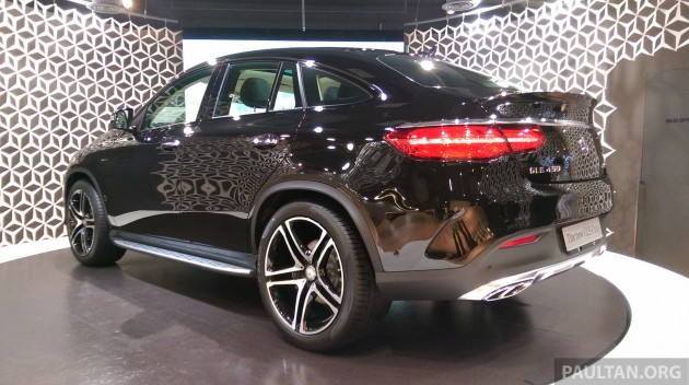 Gallery Mercedes Benz Gle 450 Amg Coupe On Display At The New Cafe In Bangkok