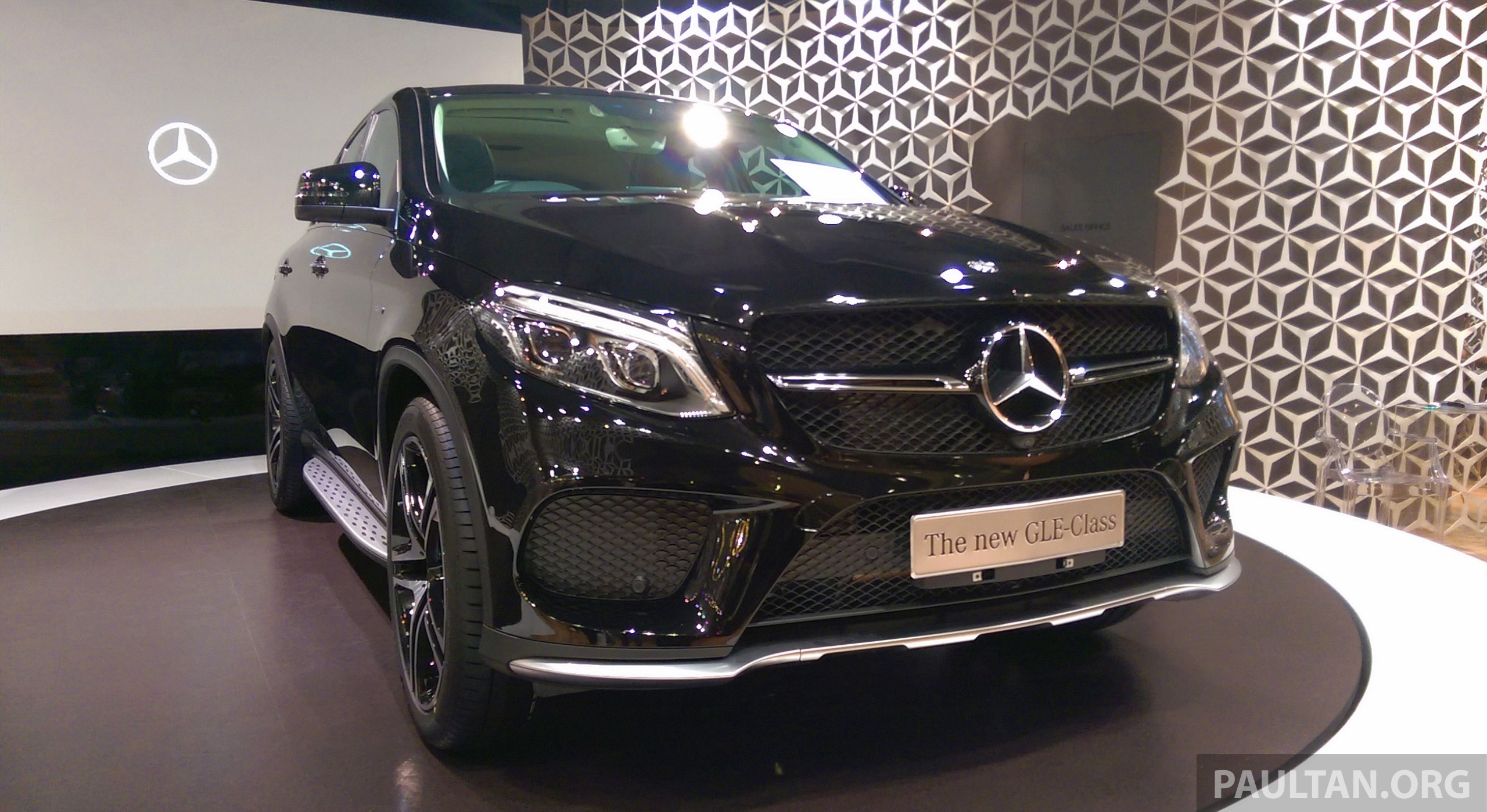 Gallery Mercedes Benz Gle 450 Amg Coupe On Display At The