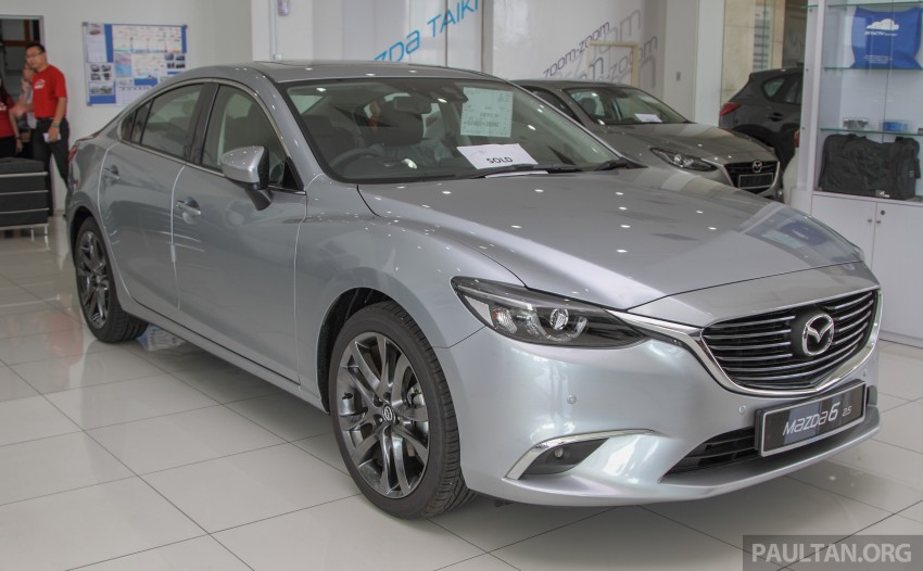 GALLERY: 2015 Mazda 6 2.0 and 2.5 now in Malaysia Image #330420