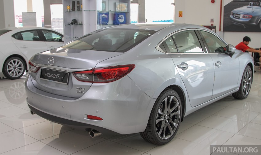 GALLERY: 2015 Mazda 6 2.0 and 2.5 now in Malaysia Image #330427