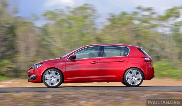 driven: 2015 peugeot 308 thp 150 review in malaysia