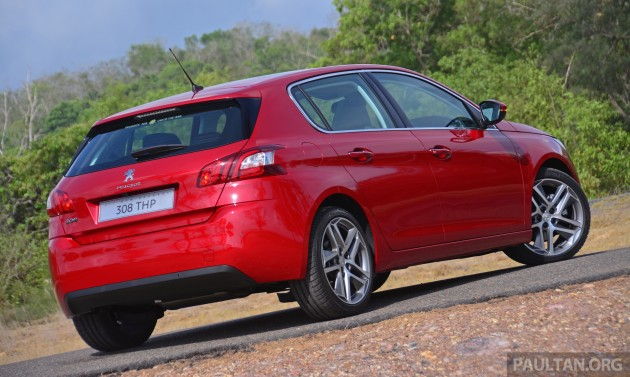 Peugeot 308 THP launched in Malaysia - RM132,888