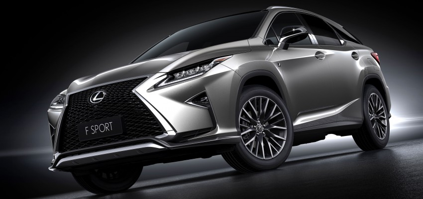 Shanghai 2015: Lexus RX 200t replaces the old RX 270 Image #330295