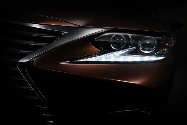 2015_Shanghai_Auto_Show_Lexus_ES_Teaser