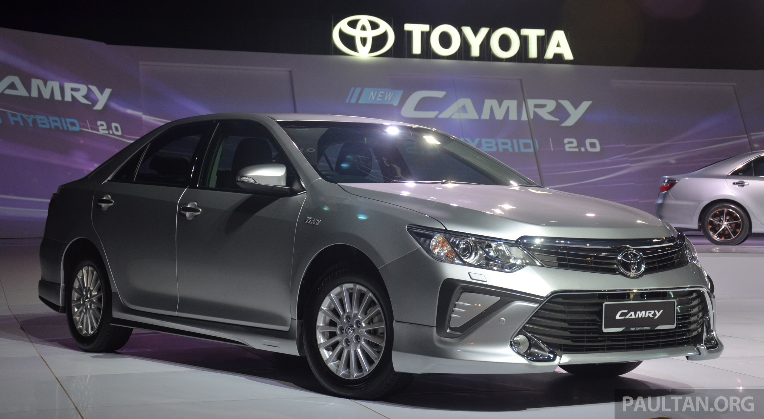 New Toyota Camry 2015 In Malaysia Autos Post