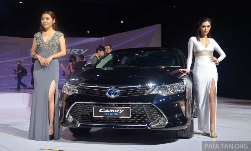 2015 Toyota Camry launched in Malaysia – new 6-spd 2.0E RM150k, 2.0G RM160k, 2.5 Hybrid RM175k Image #324695