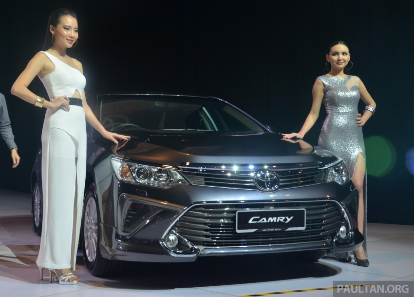 2015 Toyota Camry launched in Malaysia – new 6-spd 2.0E RM150k, 2.0G RM160k, 2.5 Hybrid RM175k Image #324697