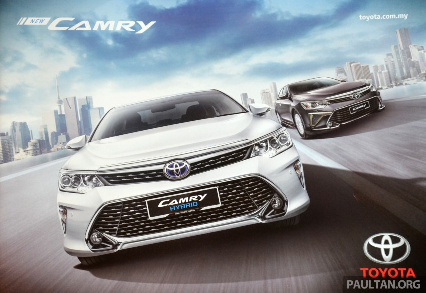 2015 Toyota Camry launched in Malaysia – new 6-spd 2.0E RM150k, 2.0G RM160k, 2.5 Hybrid RM175k Image #323961
