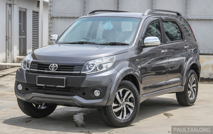 GALLERY: 2015 Toyota Rush facelift in close detail Image #332905