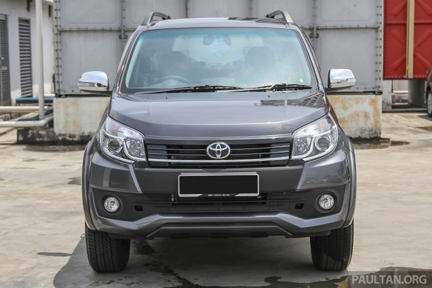 GALLERY: 2015 Toyota Rush facelift in close detail Image #332907