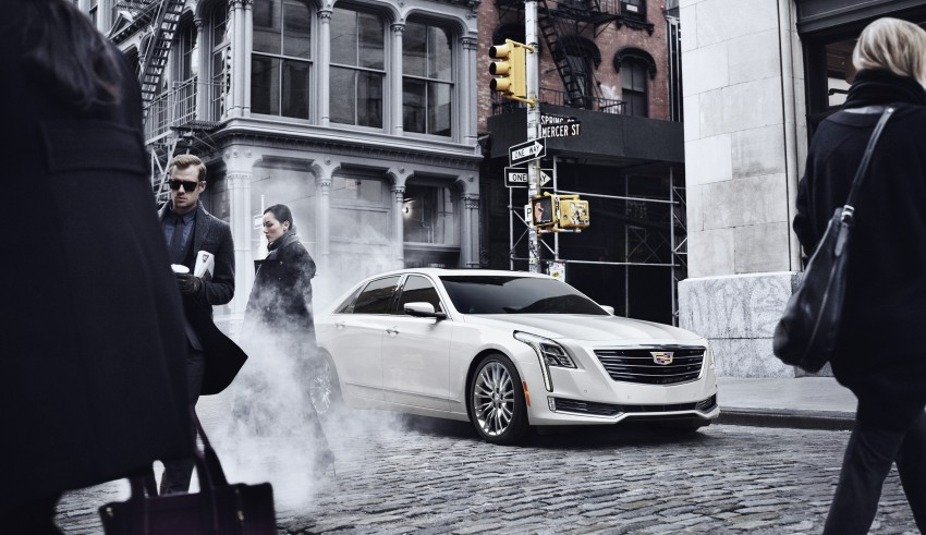 2016 Cadillac CT6 rocks up to New York with 400 hp Image #325344