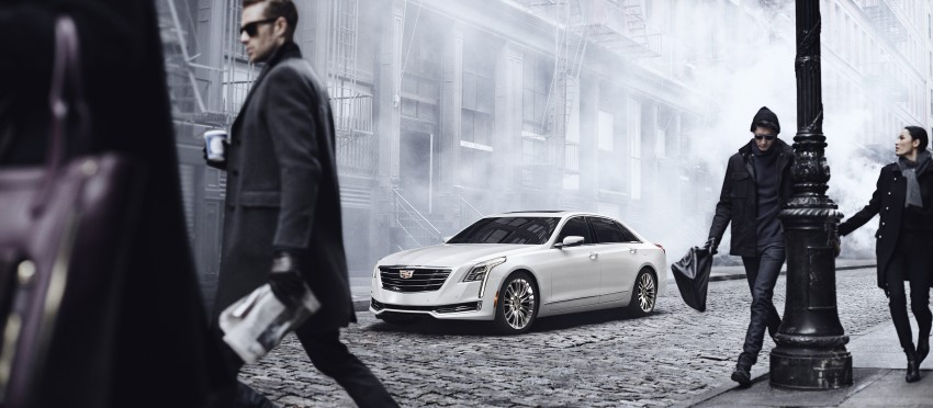 2016 Cadillac CT6 rocks up to New York with 400 hp Image #325343