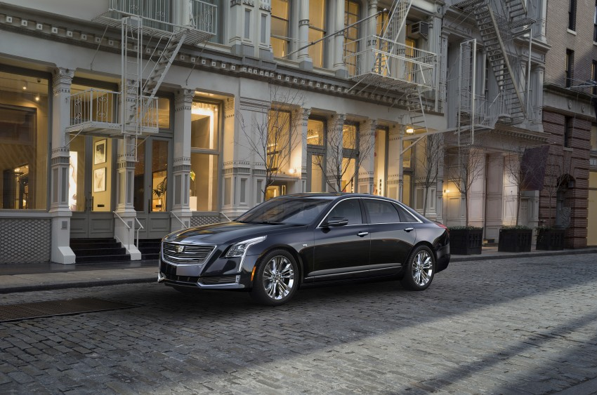 2016 Cadillac CT6 rocks up to New York with 400 hp Image #325341