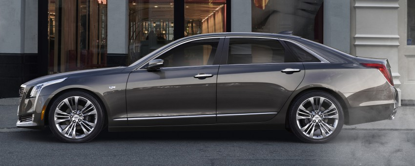 2016 Cadillac CT6 rocks up to New York with 400 hp Image #325336