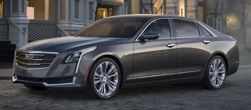 2016 Cadillac CT6 rocks up to New York with 400 hp Image #325337