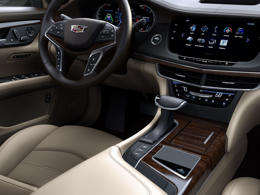 2016 Cadillac CT6 rocks up to New York with 400 hp Image #325335