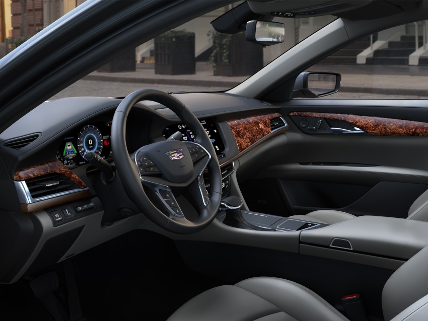 2016 Cadillac CT6 rocks up to New York with 400 hp Image #325338