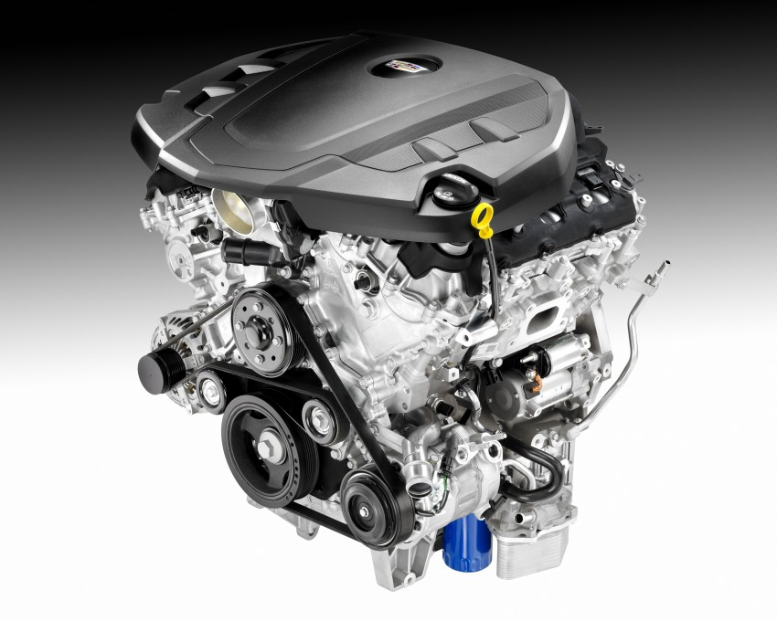 2016 Cadillac CT6 rocks up to New York with 400 hp Image #325329