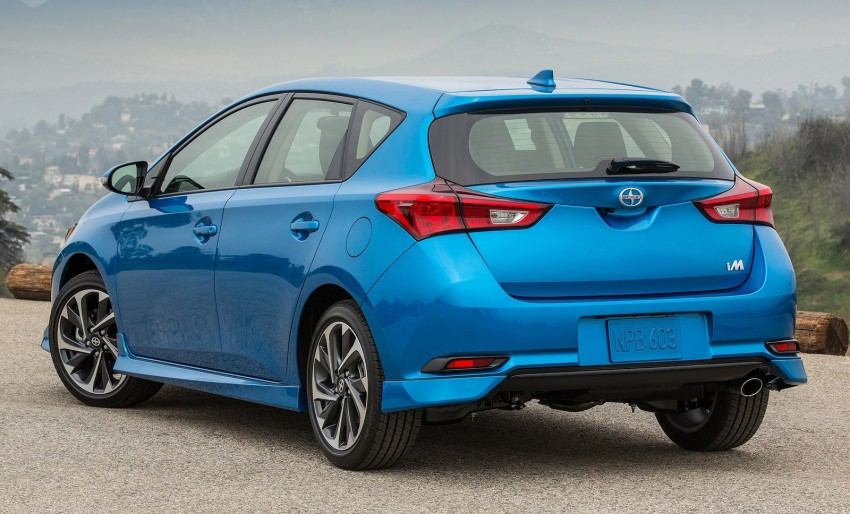 2016 Scion iM – Toyota Auris hatchback for the USA Image #324268