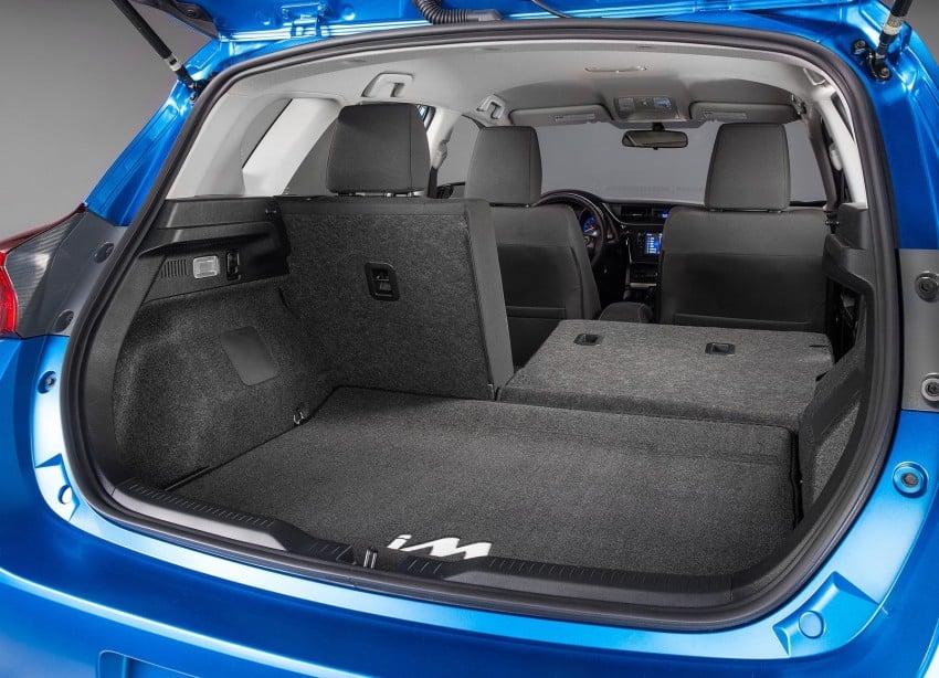 2016 Scion Im Toyota Auris Hatchback For The Usa Image