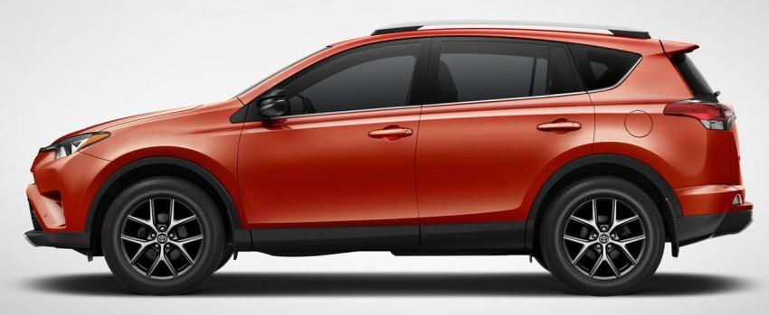 2016 Toyota RAV4 Hybrid, facelift make NY debut Image #325024