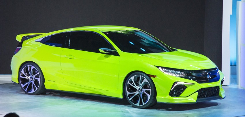 Honda Civic Concept debuts in NYC, previews tenth-gen for ASEAN – Type R hatch confirmed for US Image #323895