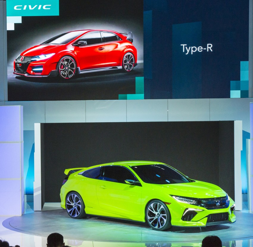 Honda Civic Concept debuts in NYC, previews tenth-gen for ASEAN – Type R hatch confirmed for US Image #323898