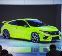 2016 Civic Coupe Concept at the 2015 New York Auto Show