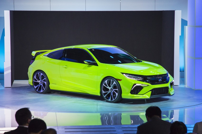 Honda Civic Concept debuts in NYC, previews tenth-gen for ASEAN – Type R hatch confirmed for US Image #323890