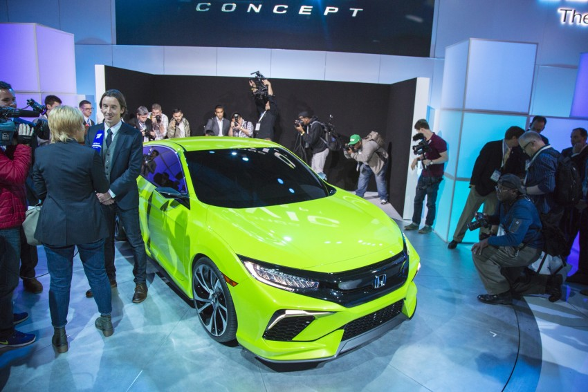 Honda Civic Concept debuts in NYC, previews tenth-gen for ASEAN – Type R hatch confirmed for US Image #323891