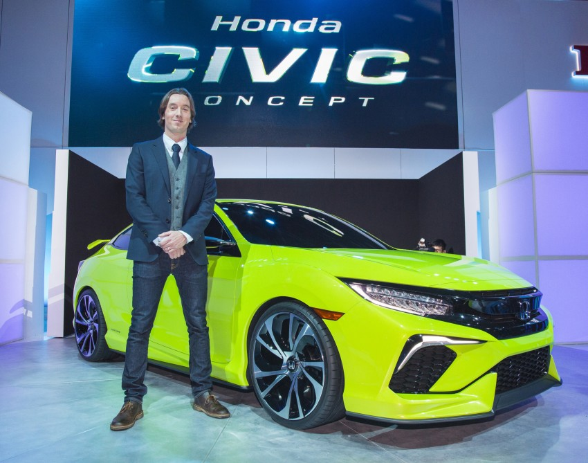 Honda Civic Concept debuts in NYC, previews tenth-gen for ASEAN – Type R hatch confirmed for US Image #323900