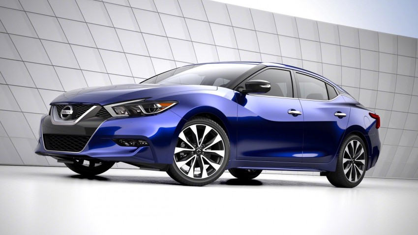 2016 Nissan Maxima debuts in New York with 300 hp Image #324899