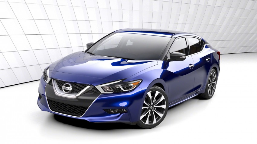 2016 Nissan Maxima debuts in New York with 300 hp Image #324894