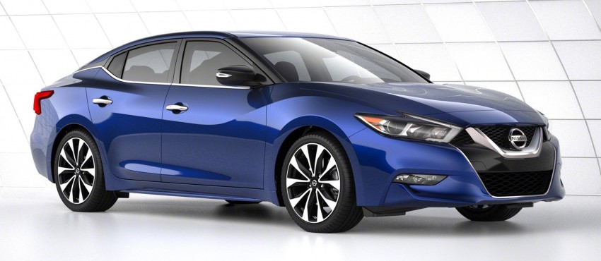 2016 Nissan Maxima debuts in New York with 300 hp Image #324879