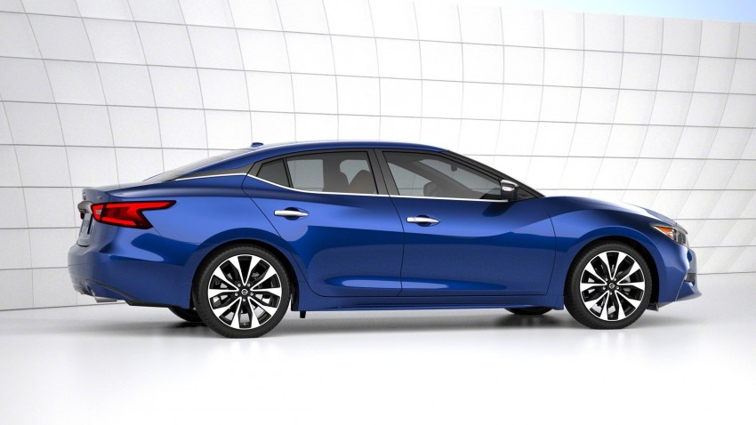 2016 Nissan Maxima debuts in New York with 300 hp Image #324911