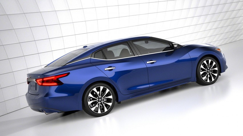 2016 Nissan Maxima debuts in New York with 300 hp Image #324912