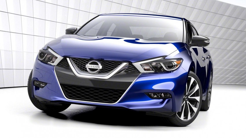 2016 Nissan Maxima debuts in New York with 300 hp Image #324896