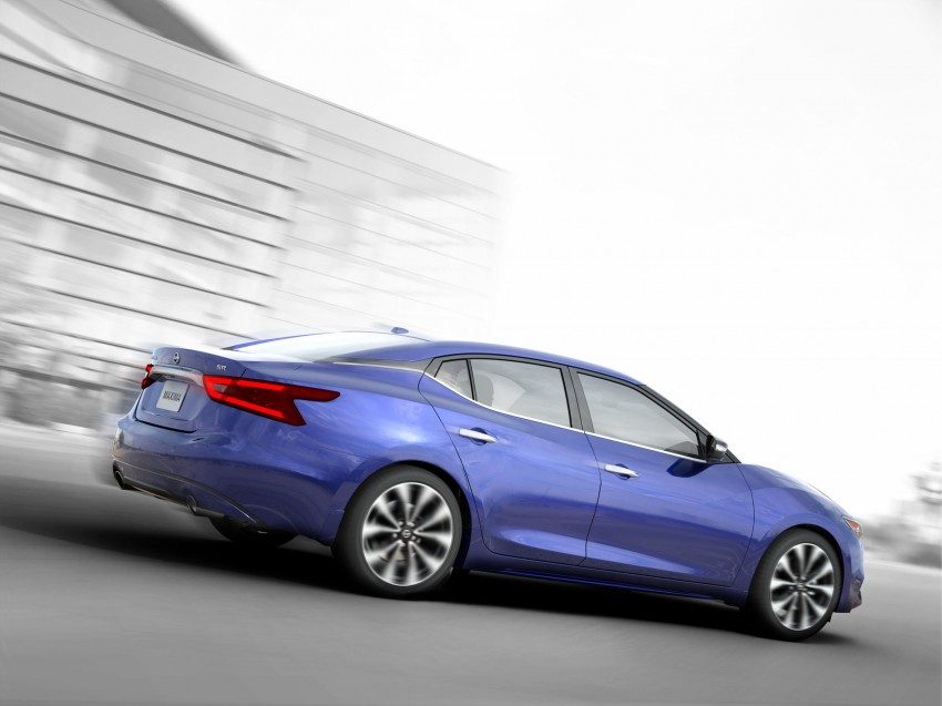 2016 Nissan Maxima debuts in New York with 300 hp Image #324913