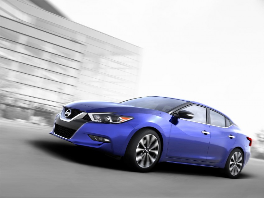 2016 Nissan Maxima debuts in New York with 300 hp Image #324917