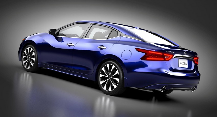 2016 Nissan Maxima debuts in New York with 300 hp Image #324885