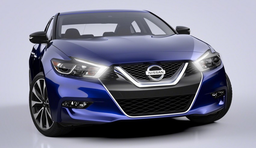 2016 Nissan Maxima debuts in New York with 300 hp Image #324886