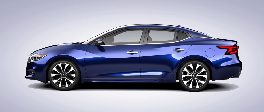 2016 Nissan Maxima debuts in New York with 300 hp Image #324889