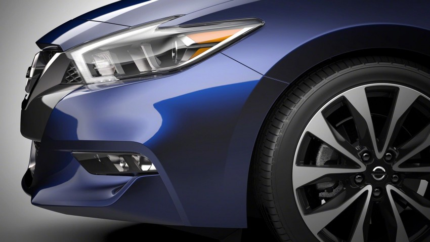 2016 Nissan Maxima debuts in New York with 300 hp Image #324914