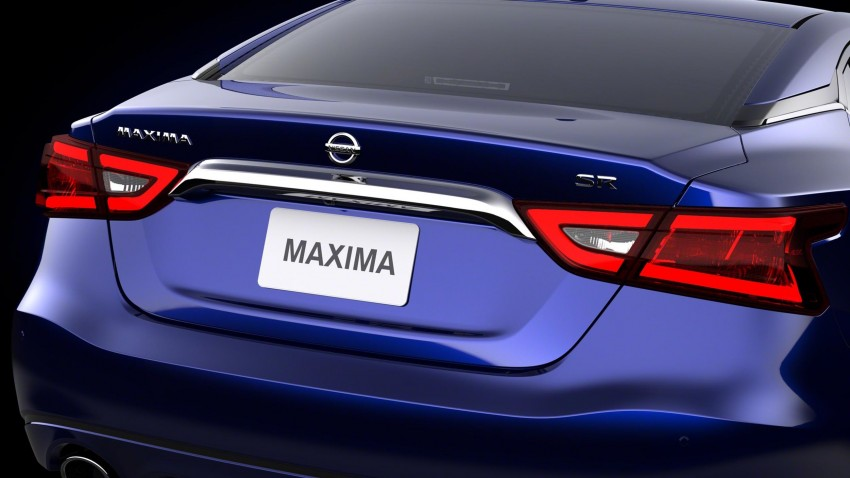 2016 Nissan Maxima debuts in New York with 300 hp Image #324927