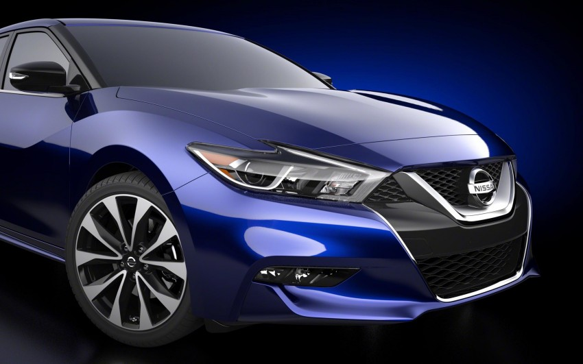 2016 Nissan Maxima debuts in New York with 300 hp Image #324901
