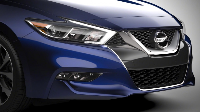 2016 Nissan Maxima debuts in New York with 300 hp Image #324916