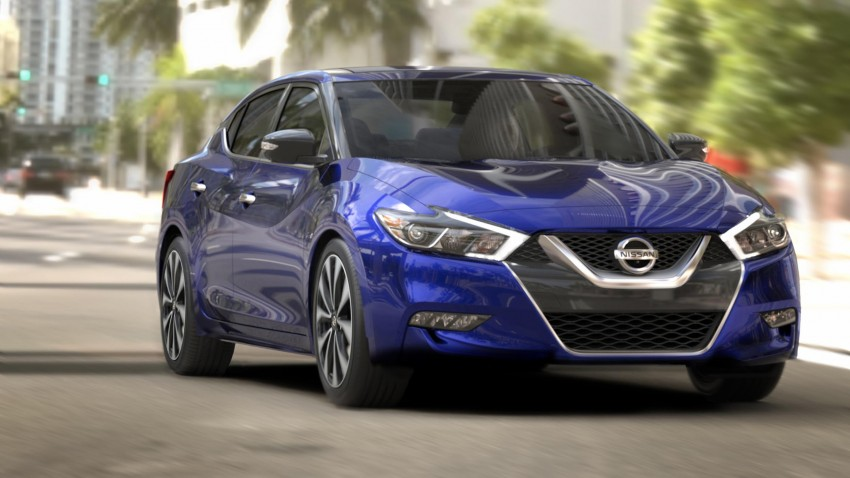 2016 Nissan Maxima debuts in New York with 300 hp Image #324918